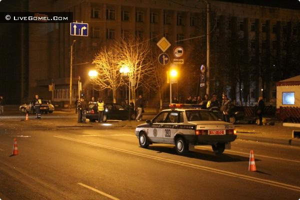 Авария на пересечении ул. Кирова и проспекта Победы