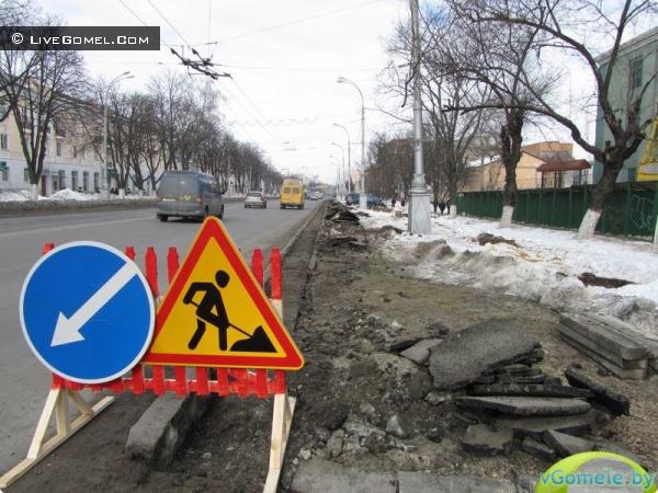 Улица Советская расширяется