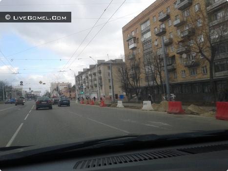 Гомель. Расширение ул. Советская