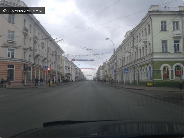 Улица Советская Гомель