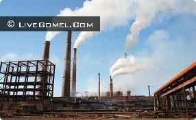 Промышленность центрального района Гомельщины