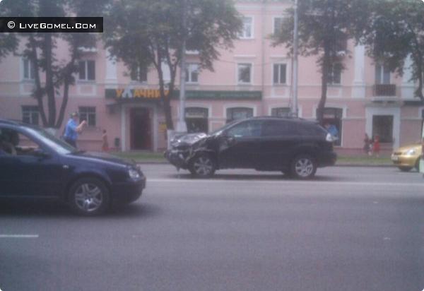 Audi авария на ул. Советская 16 июля 2012