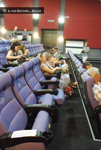 Гомельский кинотеатр «Мир» открылся после реконструкции
