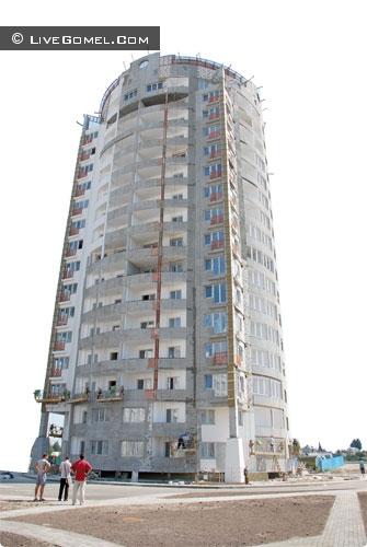 Высотный дом в Гомеле