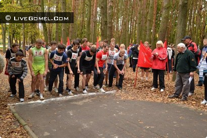 «Осенний легкоатлетический кросс» в парке Фестивальном