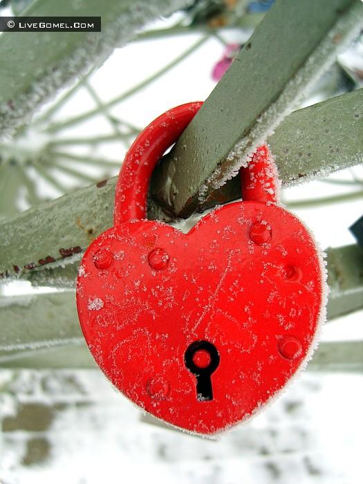 Любовь растопит лед.