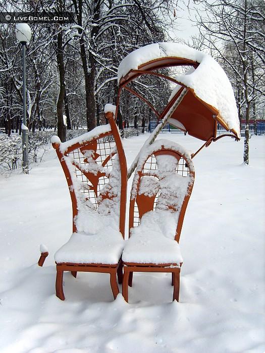 Трон для Снежной Королевы.