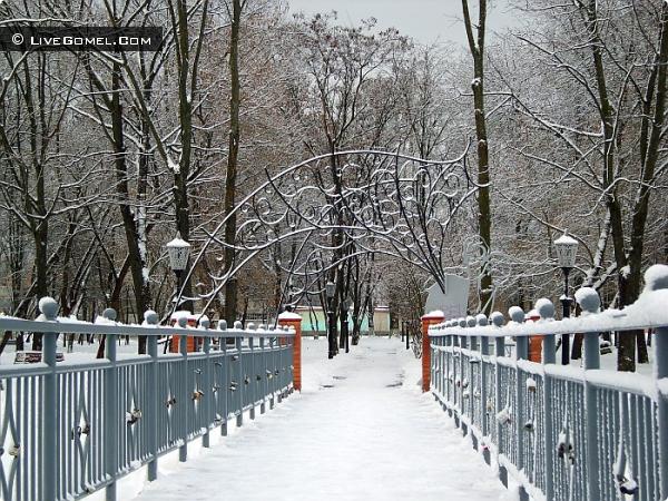 Мост для влюбленных.