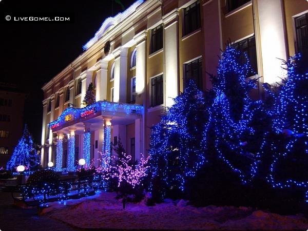 Здание администрации Железнодорожного района.