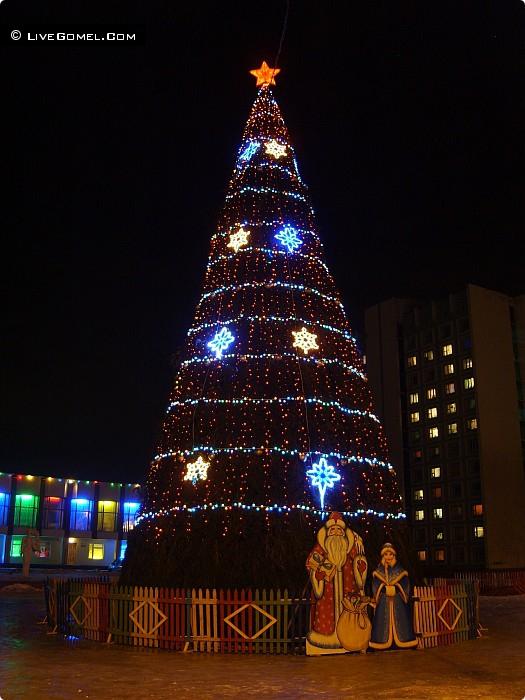 Сельмашевская елка.