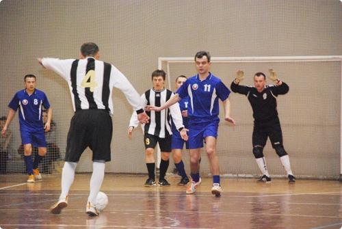 В Гомеле прошли соревнования по мини-футболу среди правоохранительных органов