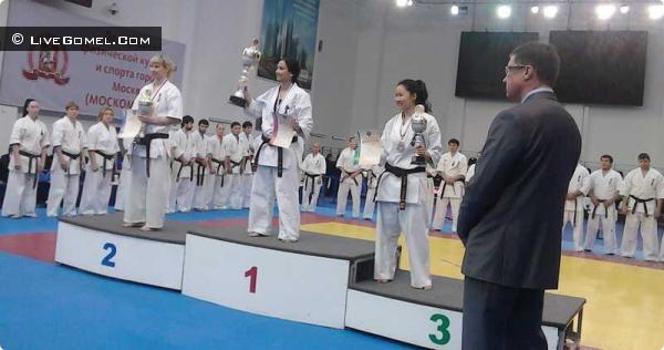 Гомельчане на Чемпионате России по киокусин