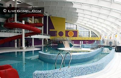 Аквапарк в Гомеле
