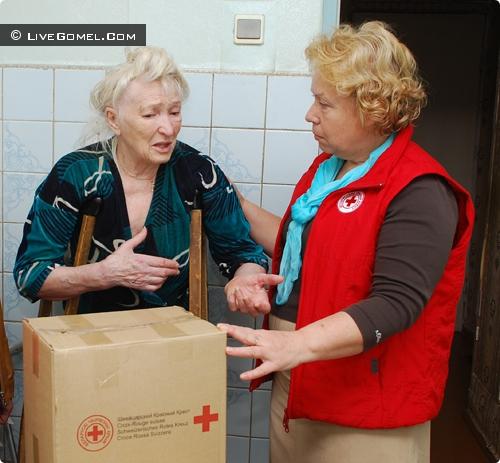 Валентина Полонская: «На призывы Красного Креста помочь обычно отзываются не самые богатые предприятия»