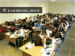 Больше всего абитуриентов в гомельской области записалось на ЦТ по русскому языку