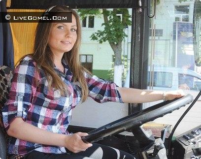 Зарина Дасхаева водитель троллейбуса