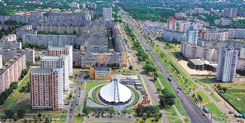 Архитектурный облик Советского района сформировало крупнопанельное домостроение