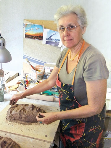 Известный гомельский скульптор порадует новой работой