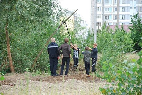 Гомельские стройплощадки защищают от детского любопытства