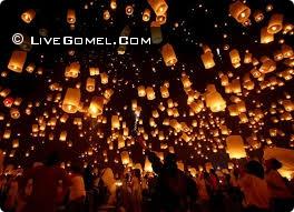 Китайские фонарики атакуют жительницу Гомеля