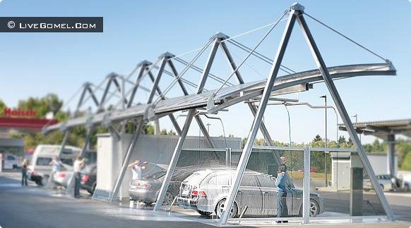 В Гомеле открылась первая автомойка самообслуживания