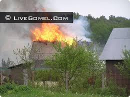 Дачник пострадал на пожаре, спасая свое имущество