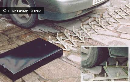 В ГАИ появились автозаградители для принудительной остановки автомобилей