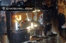 В результате пожара на улице Свиридова был поврежден телевизор и кресло