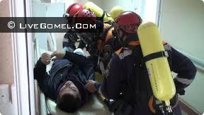 Пациент Житковичской больницы в состоянии алкогольного психоза устроил пожар в палате