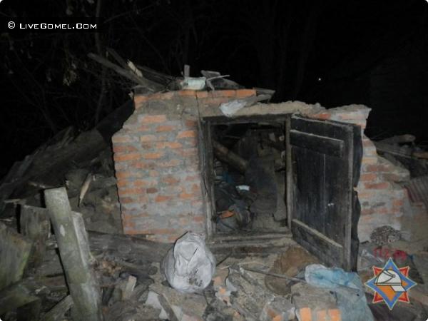 В Речицком районе от взорвавшегося бытового газа пострадали две женщины