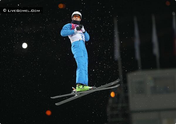Олимпийский прыжок Антона Кушнира на Олимпиаде в Сочи