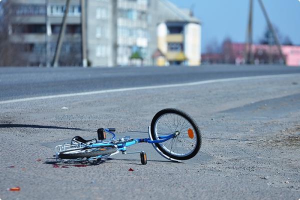 ГАИ проверила реакцию водителей на «сбитом велосипедисте»