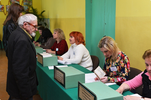 На выборах в местные советы депутатов гомельчане проявили активность