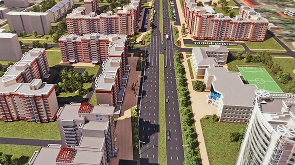 Реконструкция улицы Барыкина: отступать от проекта не будут