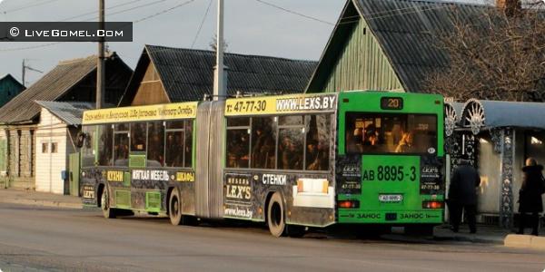 В ночь с 19 на 20 апреля в Гомеле будет работать общественный транспорт