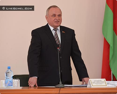 Иван Бородинчик - председатель Гомельского городского совета