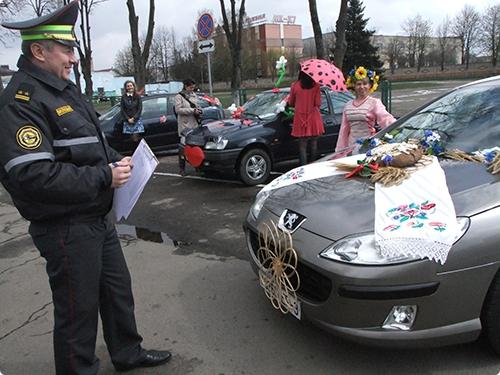 Конкурс в Гомеле - «Автосеньорита-2014»