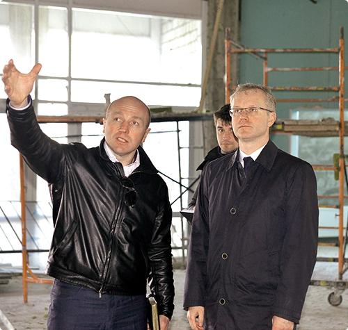 Виталий Панов (слева) и Олег Величко.