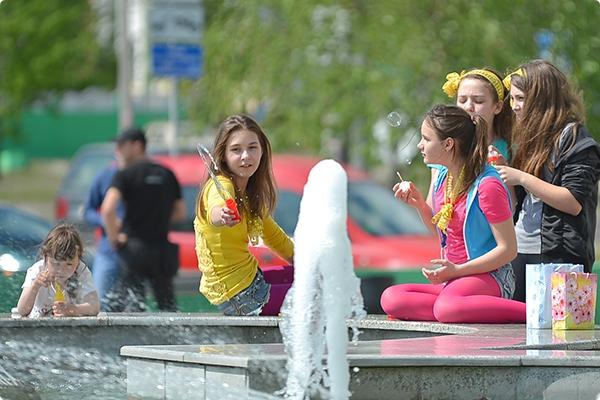 В Гомеле открылся сезон фонтанов