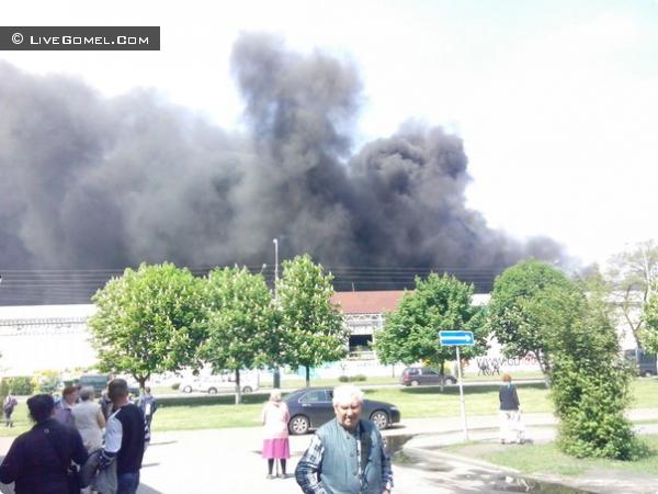 Пожар Эмальпосуда Гомель