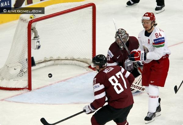 Латвия - Беларусь 1:3 ЧМ по хоккею
