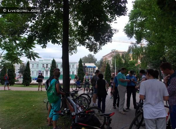 Гістарычная экскурсія на роварах адбылася ў Гомлі