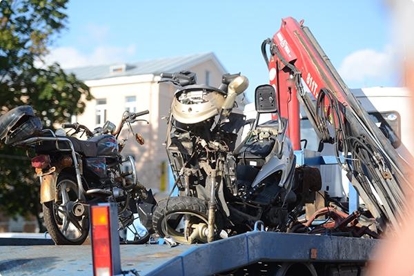 В Гомеле водителей мотоциклов повергли в шок