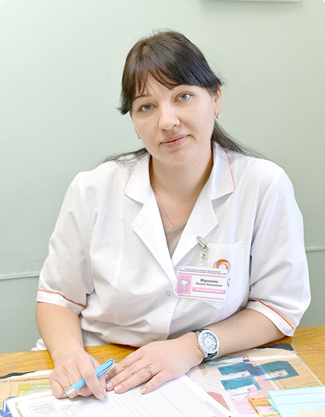 Врач-эндокринолог филиала №9 Гомельской центральной городской поликлиники Оксана Марченко