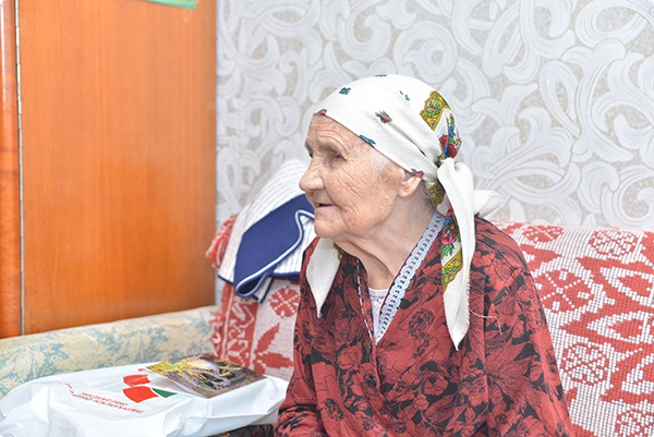 Жительница Советского района отпраздновала вековой юбилей