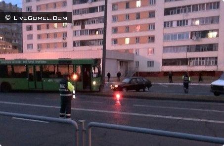 Авария по ул. Свиридова автобус №17