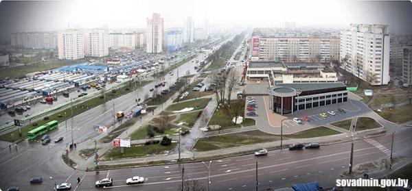 Гомельчанам предлагают обсудить проект строительства автоцентра в Советском районе