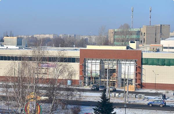 «Евроопт», «Гараж», «5 элемент»... Какие объекты откроются на площадях нового торгового центра в Гомеле?