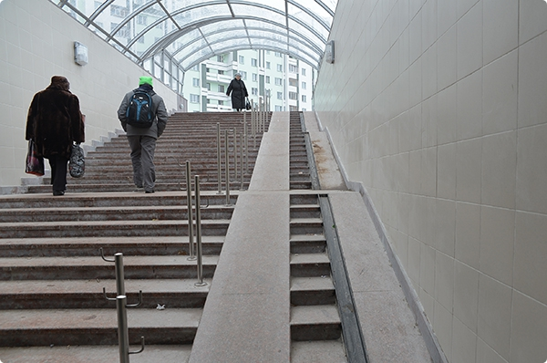 Открыт второй подземный переход на улице Барыкина