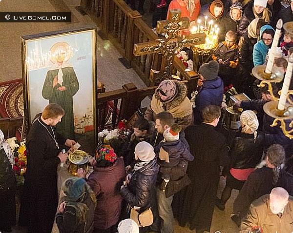 По просьбам верующих мощи святой Матроны Московской снова привезут в Гомель